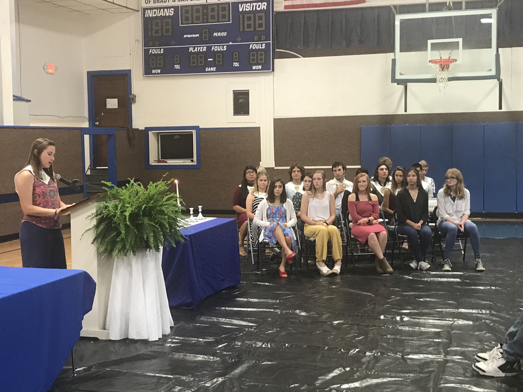 NHS Induction Ceremony 2018-2019
