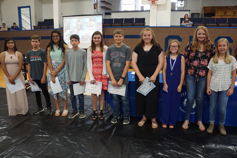 7th Grade Awards