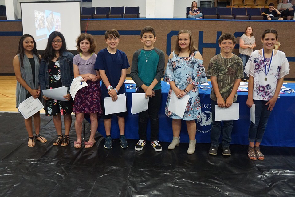 6th Grade Awards