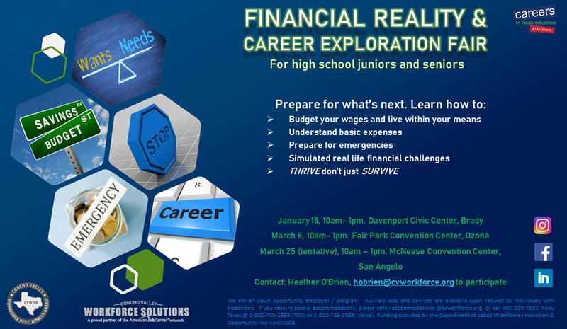 Financial Reality & Career Exploration Fair